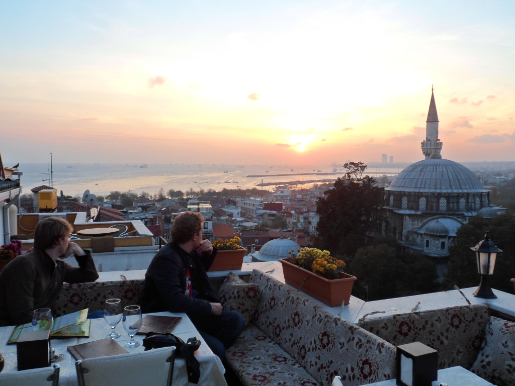 Sunset in Istanbul (Photo SW)