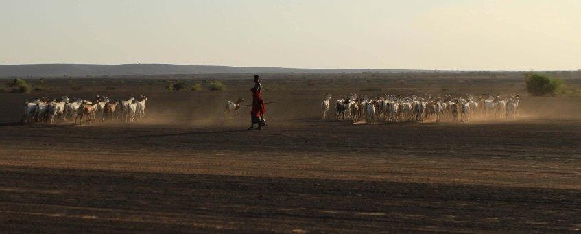 Nomads in Lake Turkana