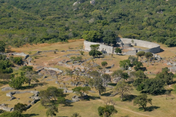 Great Zimababwe from a hilltop (Photo DN)